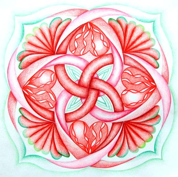 eerste chakra wortelchakra tekenen kleuren