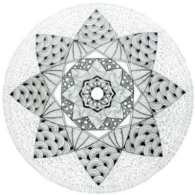 zentangle droedelen tekenen beeldend mindfulness mindful