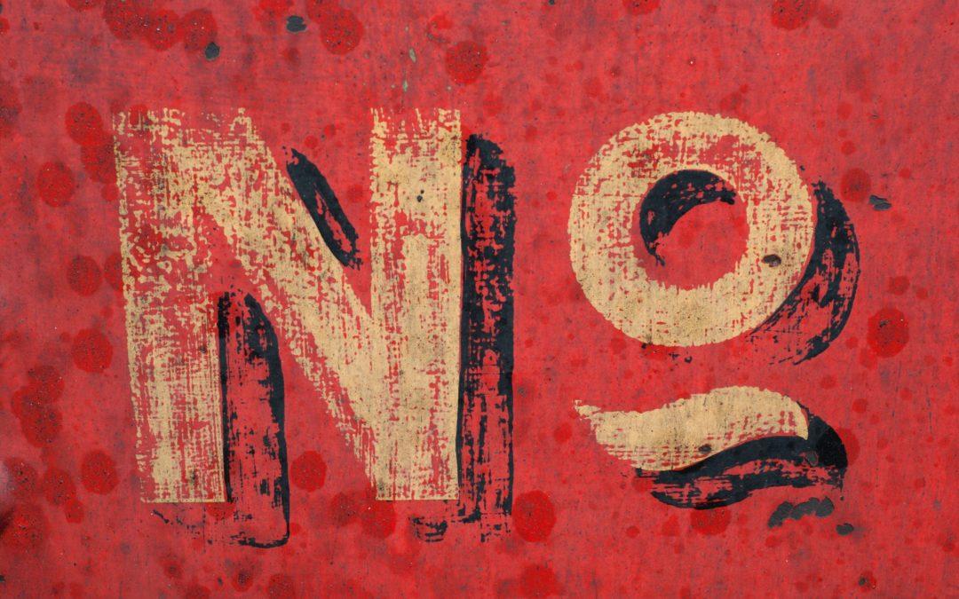 JA of NEE zeggen
